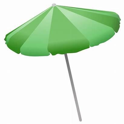 Beach Clipart Umbrella Clip Transparent Shade Background