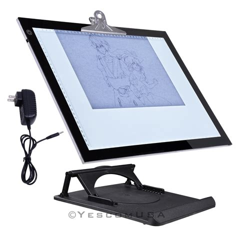 art light box for drawing 19 quot led artist stencil board tattoo drawing tracing table