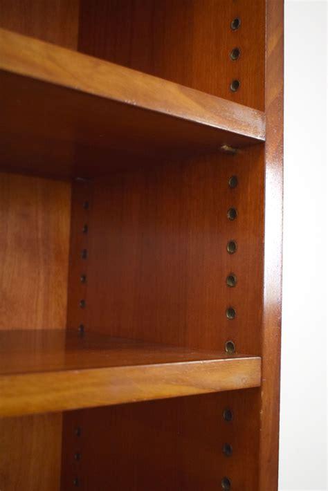 mahogany bookcase wall unit  danish design