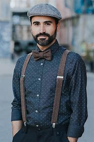 Groomsmen Suspenders and Bow tie, …