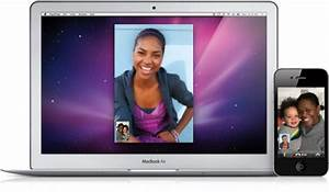 Macbook Air Iphone 4 Facetime