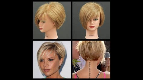 Victoria Beckham Inspired Haircut Tutorial