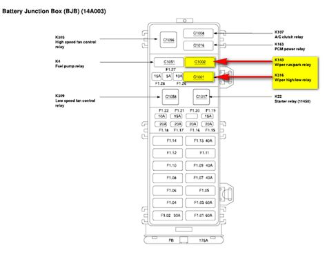 02 ford crown vic fuse diagram 02 free engine image for
