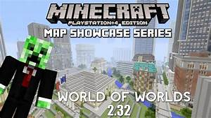 Minecraft PS3 Map World Of Worlds Download