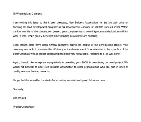 sample   letter template   documents