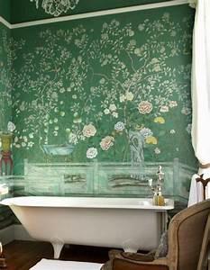 Tapete Im Badezimmer : ber ideen zu gr ne tapete auf pinterest pip studio wandtattoos und tapeten designs ~ Sanjose-hotels-ca.com Haus und Dekorationen