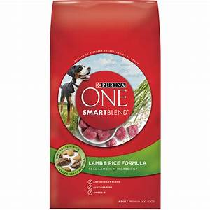 purina one smartblend dry dog food lamb and rice formula With best dog food at walmart