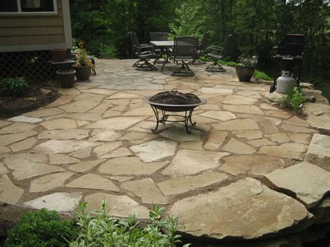 Leveling Best Driveways Flagstone Patio Cost Porch