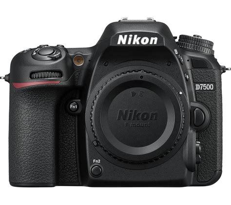 Buy Nikon D7500 Dslr Camera  Black  Free Delivery Currys