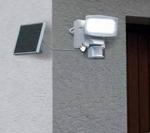 Projecteur Exterieur Avec Detecteur De Mouvement : projecteur ext rieur solaire 80 leds blanches avec ~ Edinachiropracticcenter.com Idées de Décoration