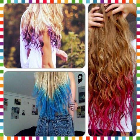 How To Dip Dye Your Hair With Kool Aid👌 Kool Aid Dye