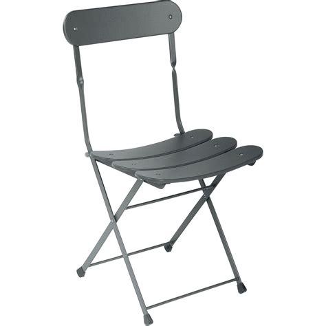 chaise acier chaise de jardin en acier cassis fer ancien leroy merlin