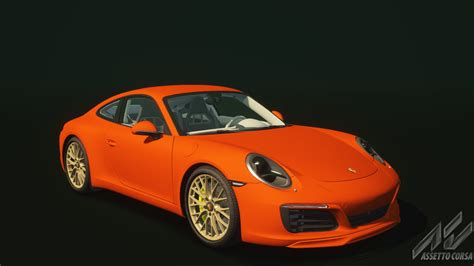 porsche 911 orange porsche 911 carrera s porsche car detail assetto