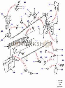 Rear Side Door Latch Mechanism