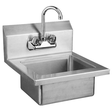 stainless wall mount sink sauber stainless steel wall mount hand sink with faucet