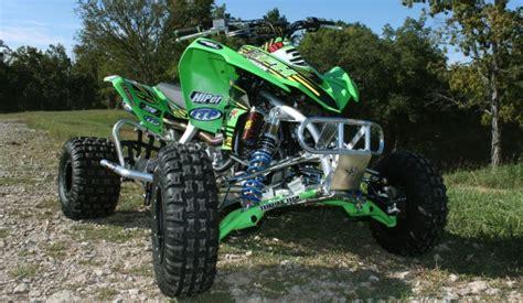 kawasaki kfxr motocross build