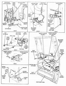 Ford Door Latch Assembly
