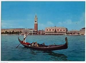 Venice-on A Gondola  Venice - Italy - Postcard