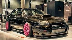 Subaru Pink Rims Love