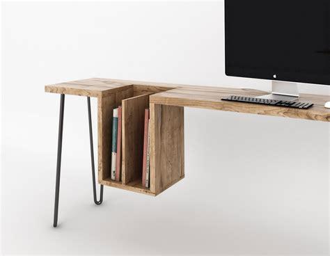 table de bureau design bureau design bois 4 déco design