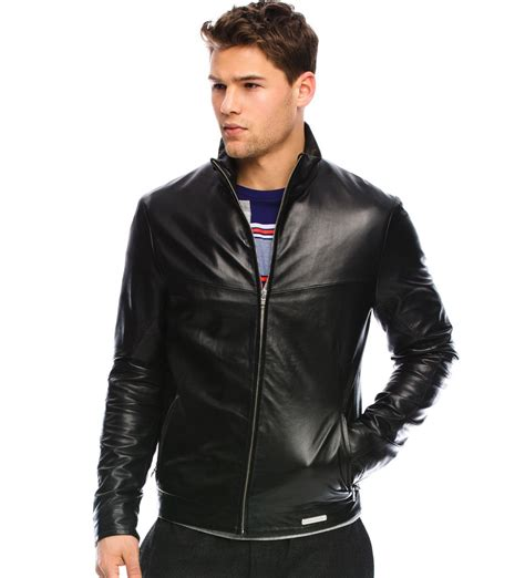 jaket kulit pria jaket kulit san leather jacket