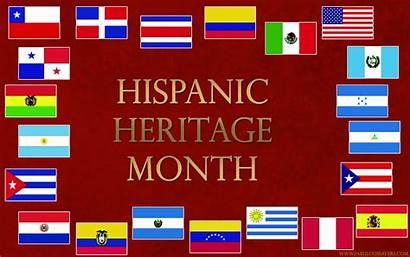 Hispanic Heritage Month National Clipart Desktop Latinos