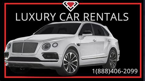 Luxury Car Rental New York At Luxury Car Rental Usa