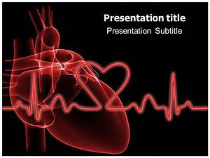 ecg ppt templates free download heart powerpoint templates With cardiovascular powerpoint template free