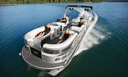 Miami Boat Rental Groupon by Groupon Two Or Four Hour Luxury Pontoon Boat Rental For