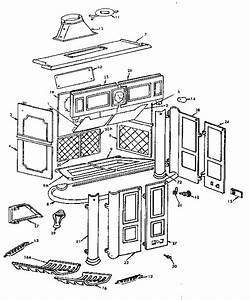 Kenmore Sears Franklin Fireplace Parts