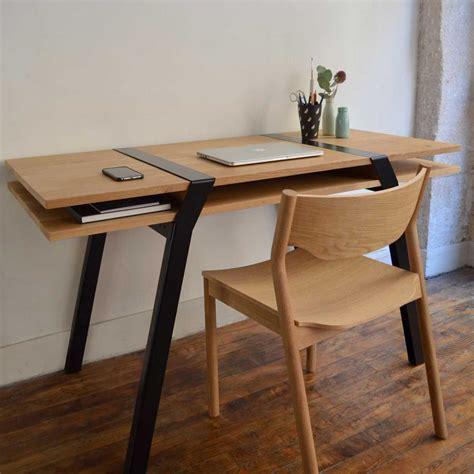 treteaux pour bureau pi16 paire de treteaux metal pour bureau deux niveaux