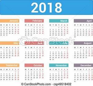 Hur många veckor på ett år 2018