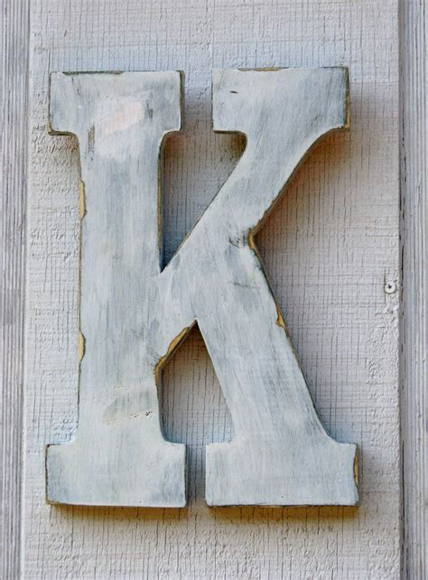 painted wooden letters discover and save creative ideas