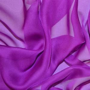 Bright Purple Cationic Chiffon Fabric Chiffon Fabric