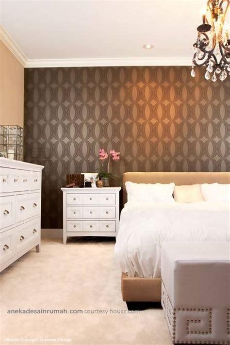 desain wallpaper dinding kamar tidur anekadesainrumah