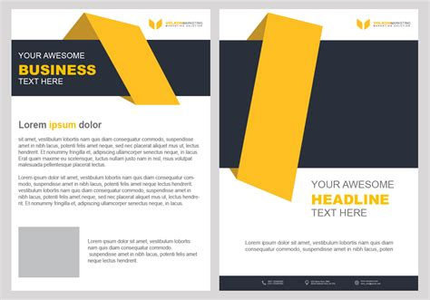 Free Photoshop Brochure Templates by Creative Brochure Design Psd Template Free Downloads For