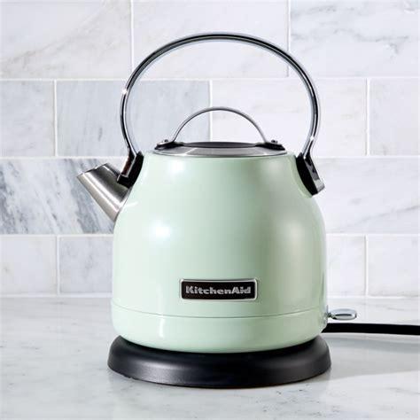 KitchenAid ® Pistachio Electric Kettle   Crate and Barrel