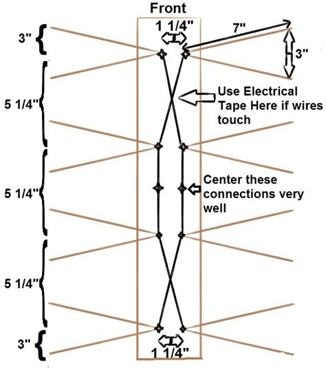 Digital Antenna With Lifier Installation Diagram For A Pre by How To Build A Db4 Antenna Moneyrhythm