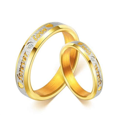 matching pair gold rings designs in india