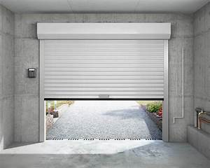Porte de garage a enroulement eveno fermetures for Porte garage à enroulement