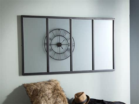 table cuisine verre miroir d 39 atelier avec 4 sections en métal 75x140cm atis