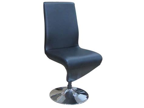 chaise noire conforama images