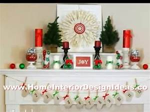 Cool Ideas Christmas Decorations Fireplace Mantel