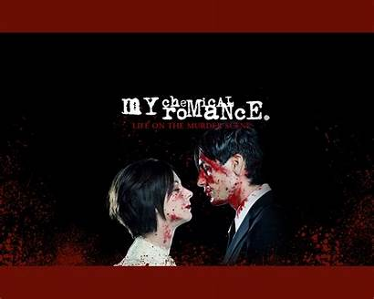Chemical Romance Wallpapers Blood Couple Computer Sign