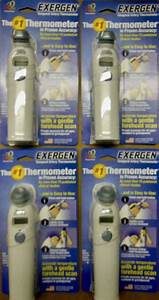 4  Exergen Temporal Artery Thermometer Tat