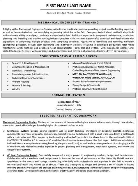 mechanical engineer resume sample template job stuff