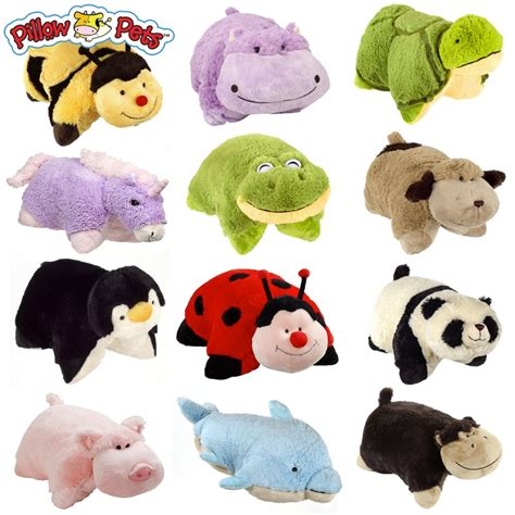 pillow pets wee set of four wee pillow pets and 12 lip smacker lip