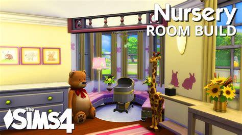 sims  room build nursery youtube