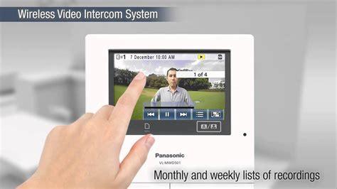 Panasonic Video Intercom System Swdex Uex Youtube