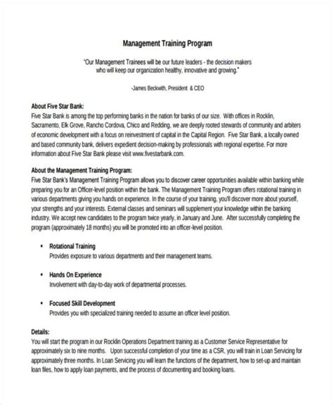 training program examples   indesign psd ms